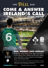 6 Nations Ticket Giveaway